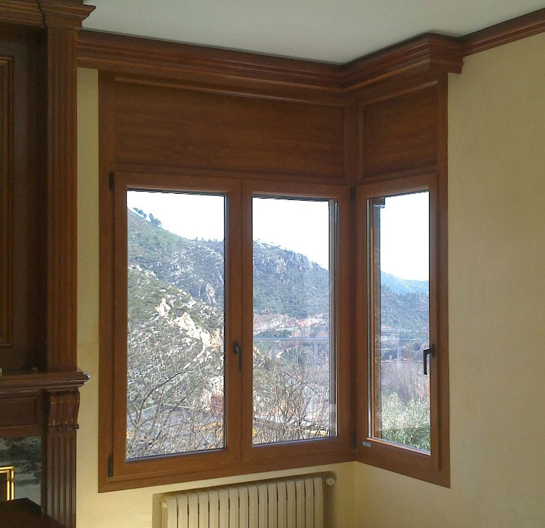 ventanas pvc imitacion madera materiales de construcci n