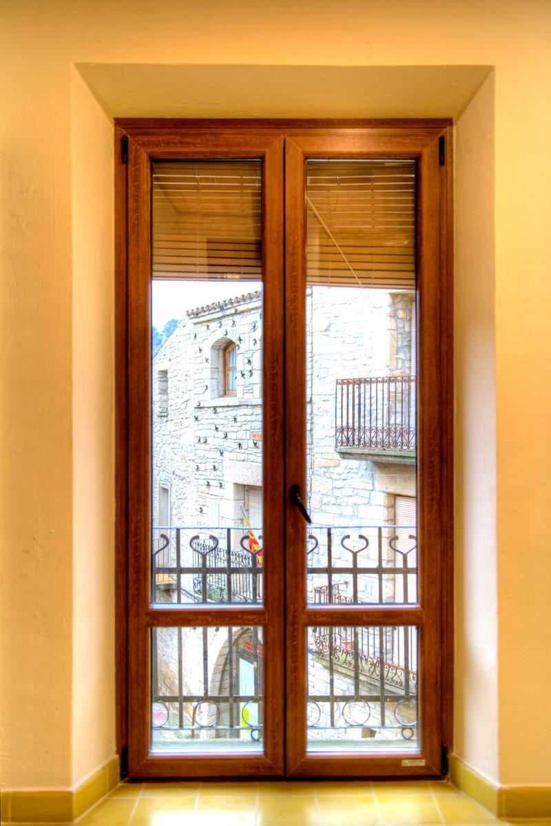 ventanas pvc imitacion madera interesting mallorquina en